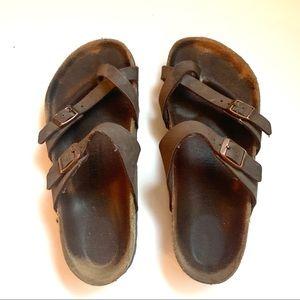 Birkenstock Sandals Mayari Mocha women's size 37